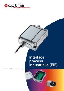 Interface process industrielle (PIF)