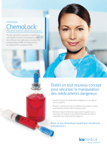 ChemoLock - ICU Medical