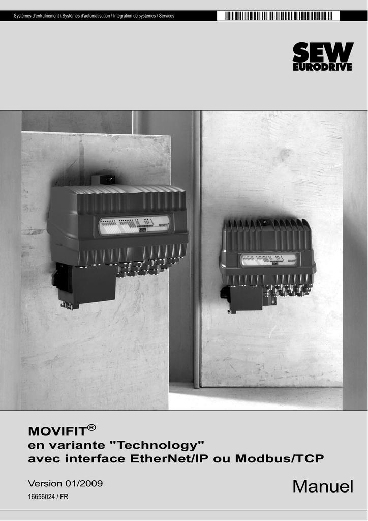 Manuel MOVIFIT en variante Technology avec interface EtherNet/IP