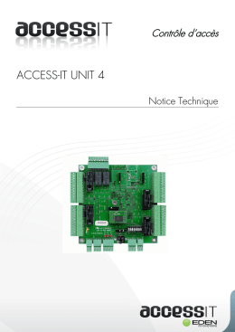 access-it unit 4 - EDEN INNOVATIONS
