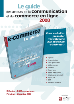 Le guide - E-commerce Mag