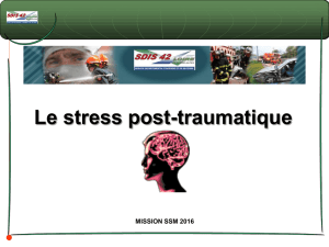 Stress post-traumatique