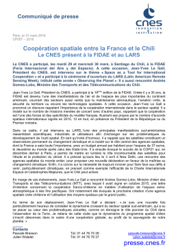 CP057-2016 - Rencontre Chili - Presse