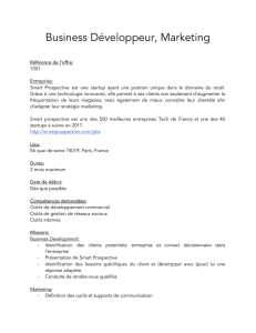 Business Développeur, Marketing