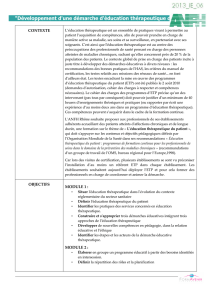 EDUCATION THERAPEUTIQUE DES PATIENTS 143.93 ko
