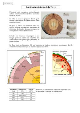 Le fonctionnement global de la terre - Couche du globe oculaire ...