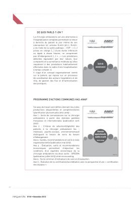 de quoi parle-t-on ? programme d`actions communes has-anap