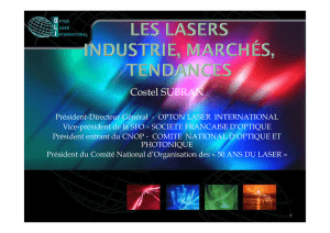 Les LASERS - WordPress.com