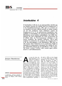 Interleukine 4 - iPubli