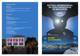 FESTIVAL INTERNATIONAL DU FILM FANTASTIQUE DE