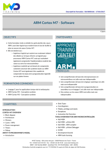 ARM Cortex M7 - Software