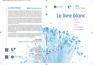LIVRE BLANC Outils du Travel Management - Leisure Travel