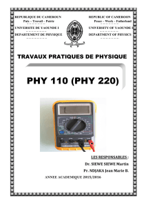 PHY 110 (PHY 220)