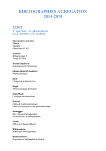 bibliographies agregation 2014-15