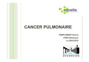 10- Dorine TEMPLEMENT - Cancer poumon