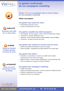 La gestion multicanale de vos campagnes marketing