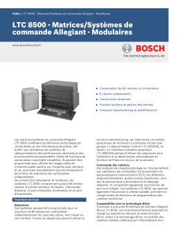 LTC 8500 - Bosch Security Systems