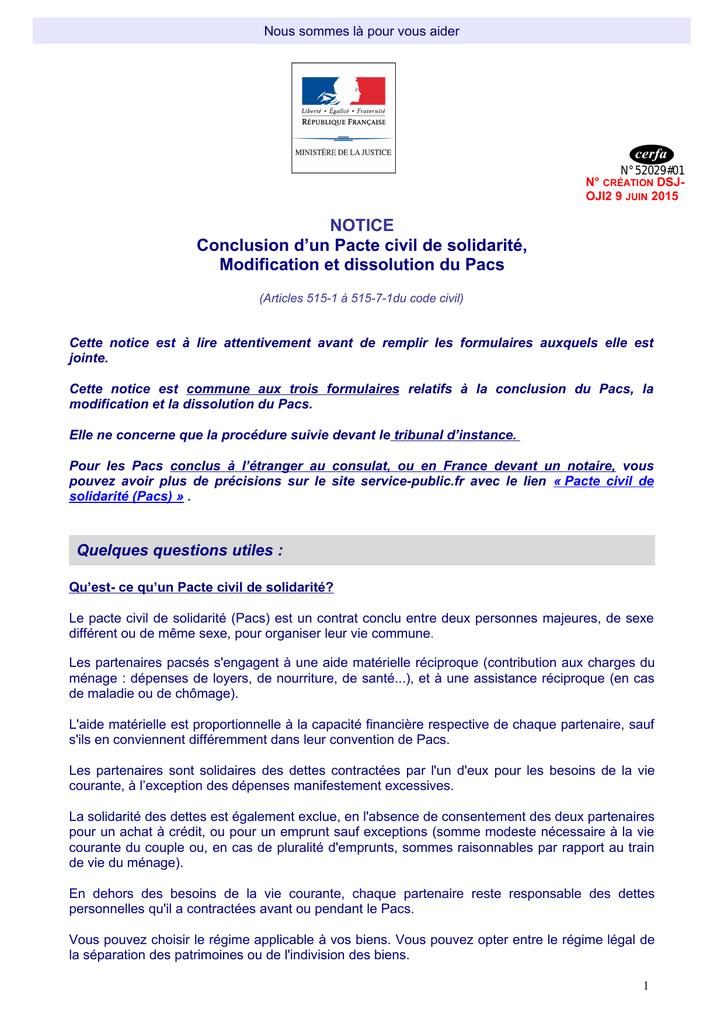 Exemple Attestation Sur L Honneur Pacs - Exemple de Groupes