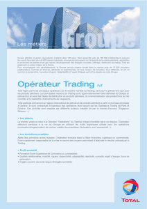 Operateur trading