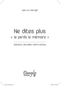 Ne dites plus - Editions Dangles