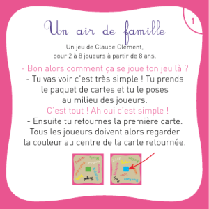 Un air de famille - Flip Flap Editions