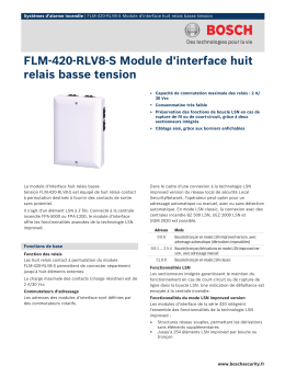 FLM‑420‑RLV8‑S Module d`interface huit relais basse tension