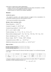 Composition de Chimie - 2003 - Agregation de sciences physiques