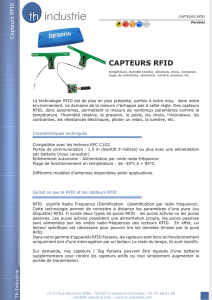 capteurs rfid - th