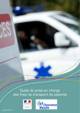 Guide de prise en charge des frais de transport de patients