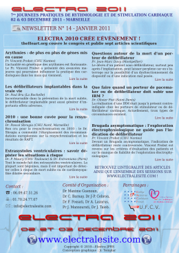 Visualiser la newsletter