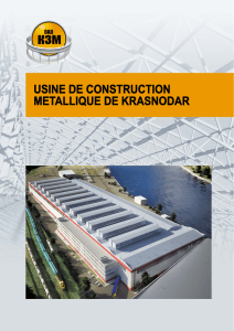 USINE DE CONSTRUCTION METALLIQUE DE KRASNODAR