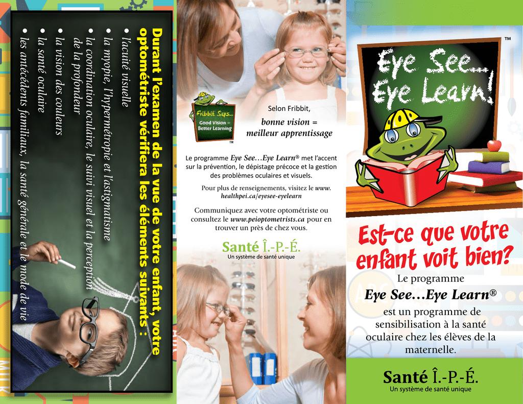 2a817d858a Eye See…Eye Learn - Prince Edward Island