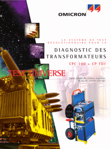 CP TD1 Brochure - French
