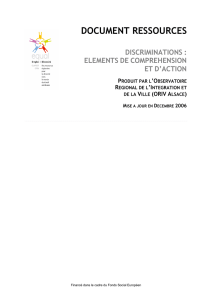 DOCUMENT RESSOURCES