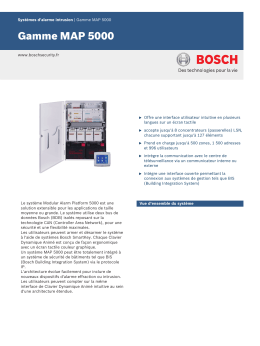 Gamme MAP 5000 - Bosch Security Systems