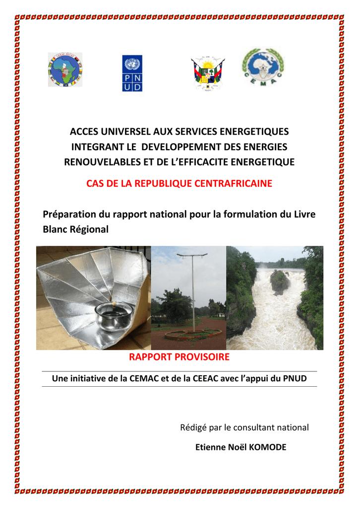 Société Minière Intertropicale BERBERATI RÉPUBLIQUE CENTRAFRICAINE S