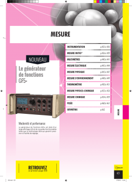 mesure - Jeulin