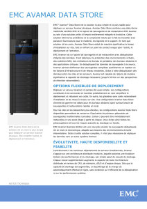 EMC® Avamar® Data Store