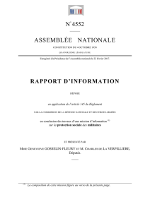 N° 4552 ASSEMBLÉE NATIONALE