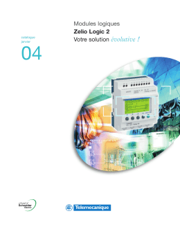 Modules logiques Zelio Logic 2