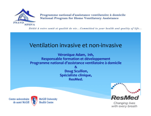 (34) Ventilation invasive et non