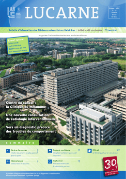 version pdf - Cliniques universitaires Saint-Luc