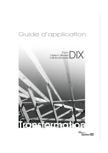 Guide d`application - Partie 10