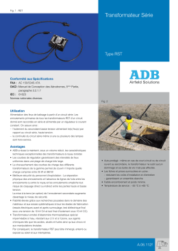 Transformateur Série - ADB Airfield Solutions