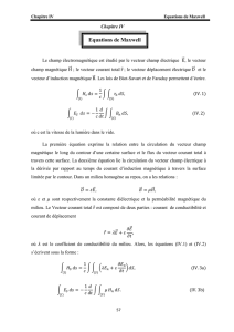 Equations de Maxwell