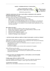 NOTICE - Pharmacie de Steinfort