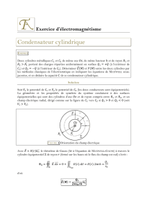 Condensateur cylindrique - Thierry Albertin