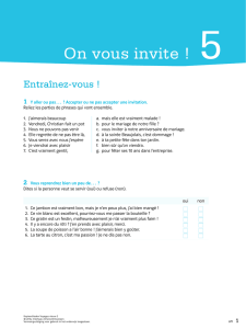 On vous invite ! 5