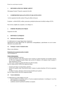 denomination du medicament composition qualitative et