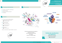 Cellule de coordination du logement